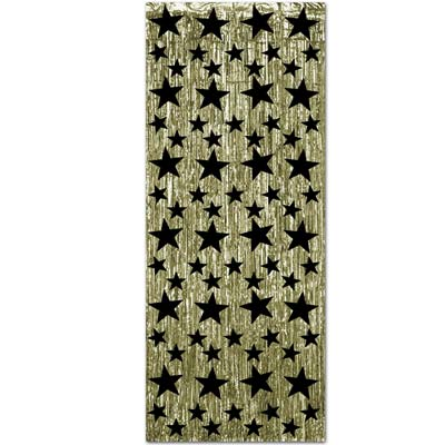 Black_and_Gold_Star_Fringe_Curtain