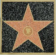 Walk Of Fame Star Replica